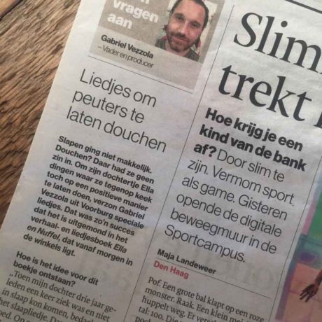 We staan in de krant :)