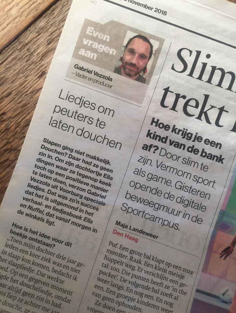 We staan in de krant :)